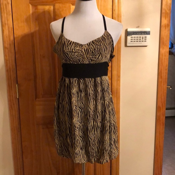 New w Tags attached. Guess animal print dress NWT